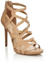 Jessica Simpson Suede Caged Heels