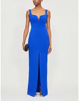 SOLACE London Linza stretch-crepe maxi dress