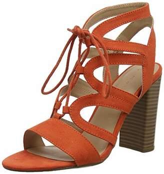 New Look Women's Oak Open Toe Sandals, Orange (Burnt Orange 81), 6 (39 EU)