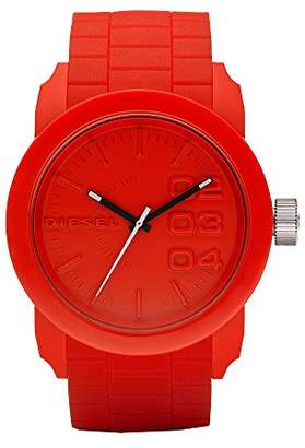 Diesel Men's DZ1440 Double Down Silicone Watch