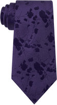 Calvin Klein Men's Abstract Floral-Print Tie