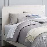 west elm Malone Campaign Headboard - White Lacquer