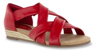 Easy Street Shoes Zora Espadrille Wedge Sandal