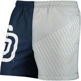 Trunks Unbranded Men's Navy/Gray San Diego Padres Color Block Swim