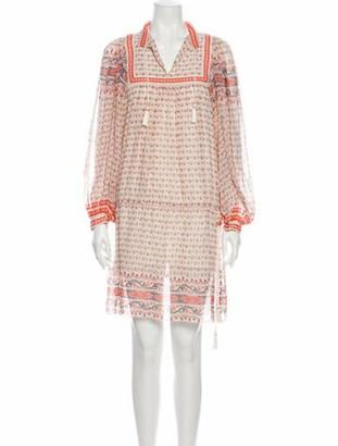 Ulla Johnson Silk Knee-Length Dress
