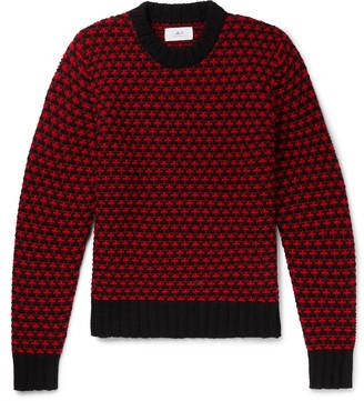 Mr P. Intarsia Merino Wool Sweater