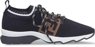 Fendi FF stripe low-top sneakers