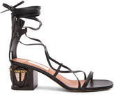 Valentino Tribe Gladiator Leather Heeled Sandals