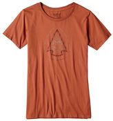 Patagonia Women's Live Simply® Knapping Cotton Crew T-Shirt