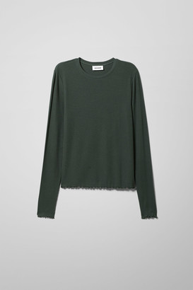 Weekday Florence Long Sleeve - Green