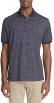 Paul & Shark Men's Print Polo