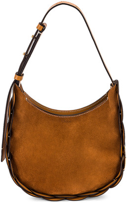 Chloé Small Darryl Hobo Bag in Autumnal Brown | FWRD