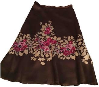 Anna Molinari Brown Skirt for Women