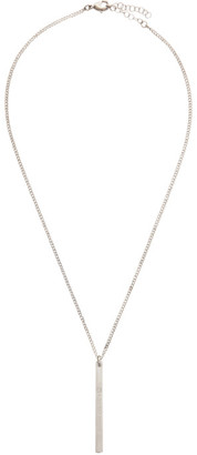 MM6 MAISON MARGIELA Silver Pendant Chain Necklace