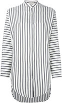 Studio Nicholson striped tunic shirt - women - Silk - 0
