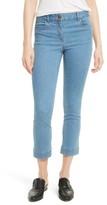 Veronica Beard Women's Gia Crop Baby Kick Jeans