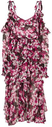 MISA Los Angeles Catriona Floral Midi Dress