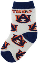 For Bare Feet Babies' Auburn Tigers Socks