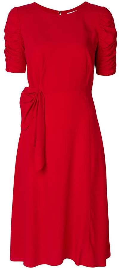 P.A.R.O.S.H. ruched slim-fit dress