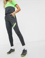 Nike Training Nike Soccer Academy sweatpants in neon yellow