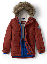Classic Boys Expedition Parka-Bright Rust