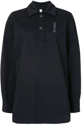 Dion Lee Logo-Print Polo Top