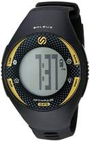 Soleus 'Soleus GPS Pulse BLE' Quartz Yellow Fitness Watch (Model: SG013-020)