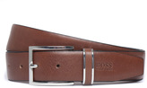 Boss Froppin Light Tan Leather Belt