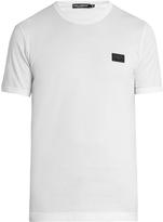 Dolce & Gabbana Crew-neck cotton-jersey T-shirt