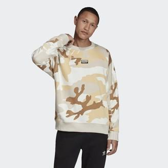 adidas R.Y.V. Camouflage Crewneck Sweatshirt