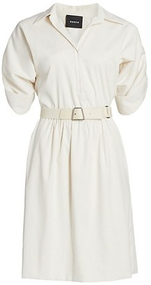 Akris Belted Shirtdress