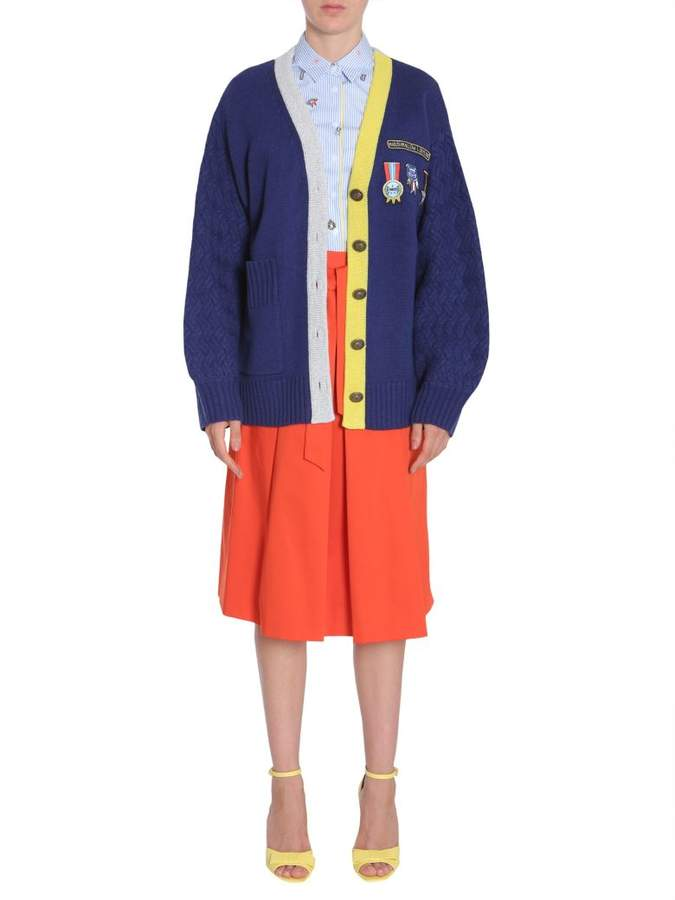 Mira Mikati Cardigan With Scout Patch