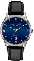 Kenneth Cole Mens Diamond Accented Wrist Watch