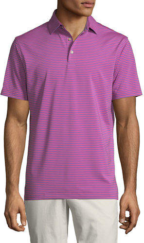 Peter Millar Men's Competition Stripe Polo Shirt