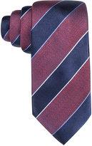 Tasso Elba Men's Core Navy Stripe Tie, Only at Macy's