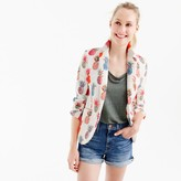 J.Crew Campbell Italian linen blazer in Ratti® painted pineapple