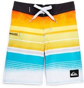 Quiksilver Boys' Stripe Colorblock Boardshorts - Sizes 2-7