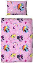 My Little Pony Equestria Toddler Duvet & Bedding Bundle Set