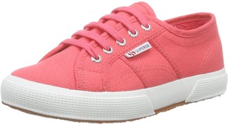 Superga Unisex Kids 2750 JCOT Classic Low-Top Sneakers Pink Size: 11.5 UK