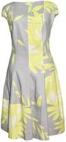 Talbot Runhof Grey Cotton Dress for Women