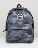 Hype Backpack In Black Camo