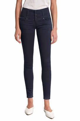 Salsa Mystery Push Up Skinny Soft Touch Jeans with Shine Blue