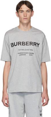 Burberry Grey Murs T-Shirt