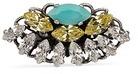 Anton Heunis Swarovski crystal fan ring