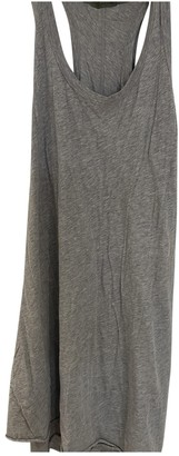 Enza Costa Grey Cotton Dresses