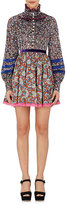 Marc Jacobs Women's Floral & Paisley Silk Long-Sleeve Dress
