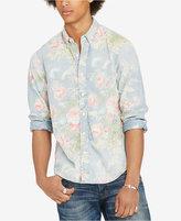 Denim & Supply Ralph Lauren Men's Floral-Print Long-Sleeve Shirt