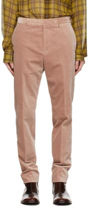 Rochas Homme Pink Velvet Romeo Trousers