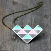 MeMeMe me me me Geometric Necklace