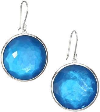 Ippolita Wonderland Large Sterling Silver & Mother-Of-Pearl Doublet Drop Earrings